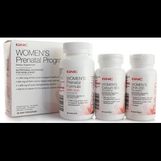 GNC健安喜孕妇产前综合营养包30天配方